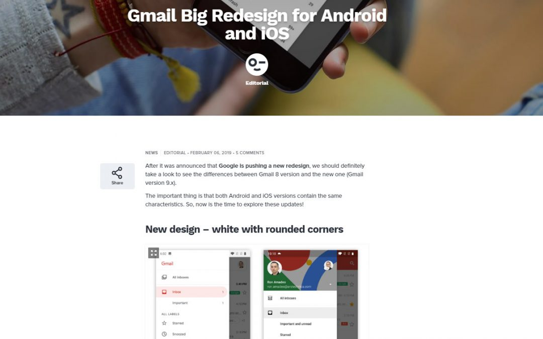 What Do You Think About the Gmail Redesign?